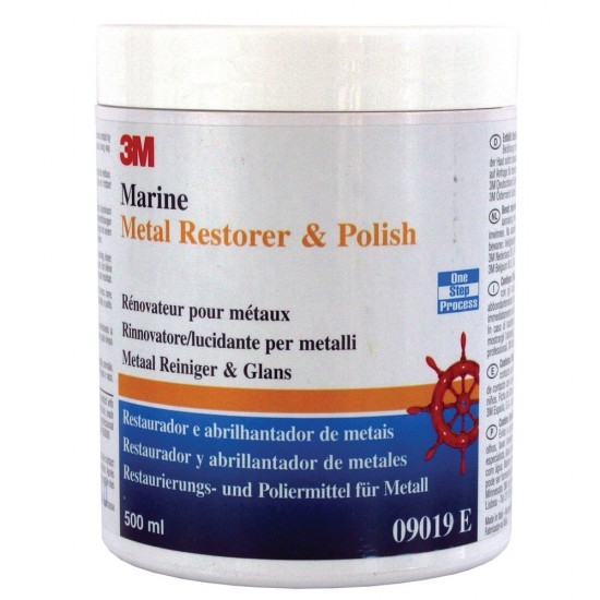 3M marine metal restorer and polish 500ml
